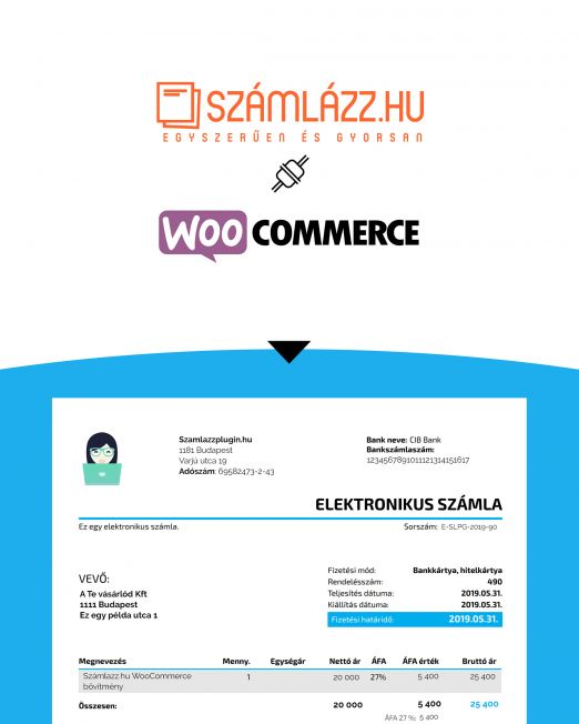 Számlázz.hu WooCommerce Wordpress plugin